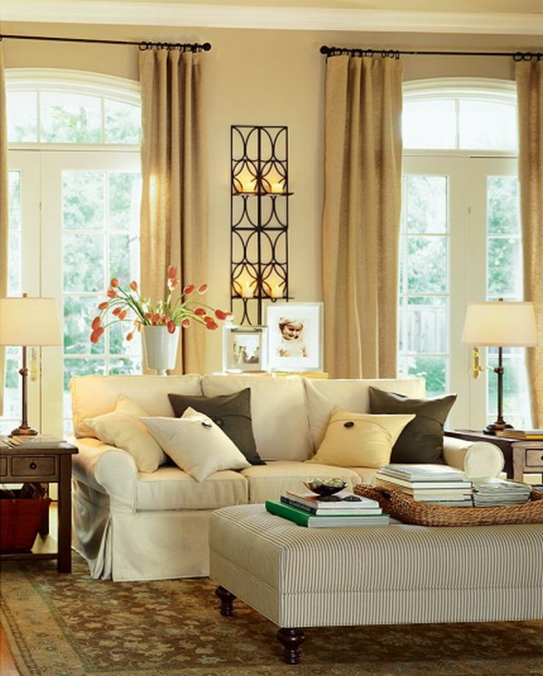 how to create warm living room design